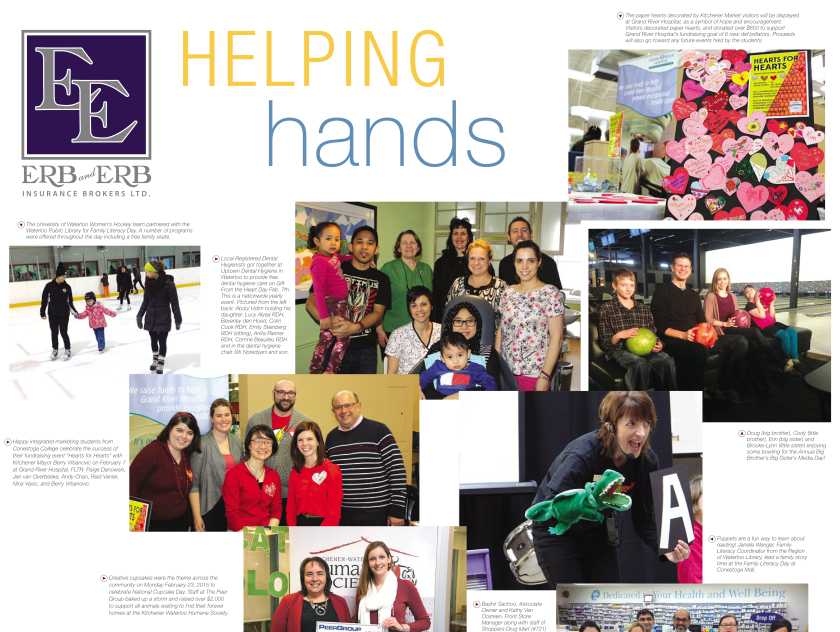 The Record Helping Hands February 2015